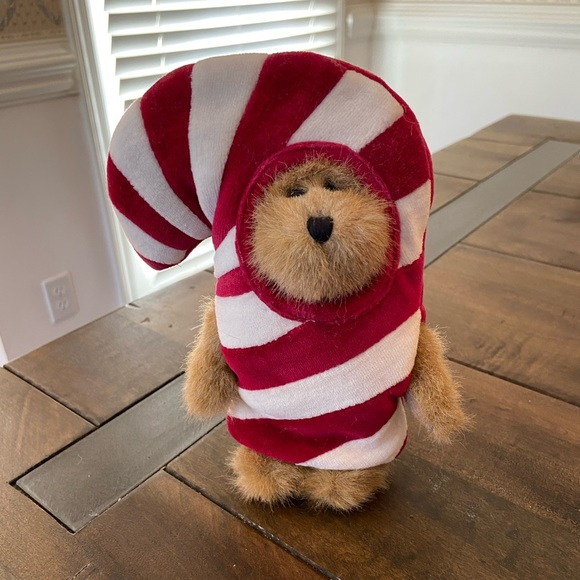 NWT Boyd's Bear C C Peekers Candy Cane Bear!